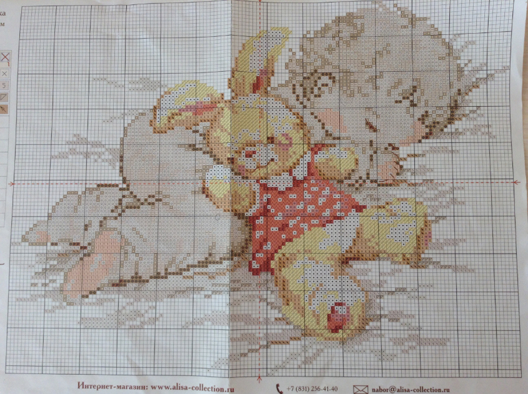 Схема вышивке крестом моя дочурка
