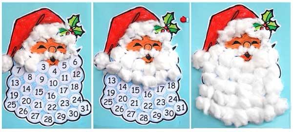 Новогодний календарь своими рука