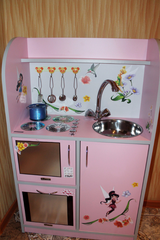Кухня детская своими руками видео