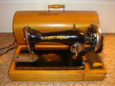 Как шить на старой ручной швейной машинке