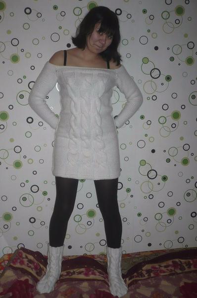 Платье Туника С Косами Доставка