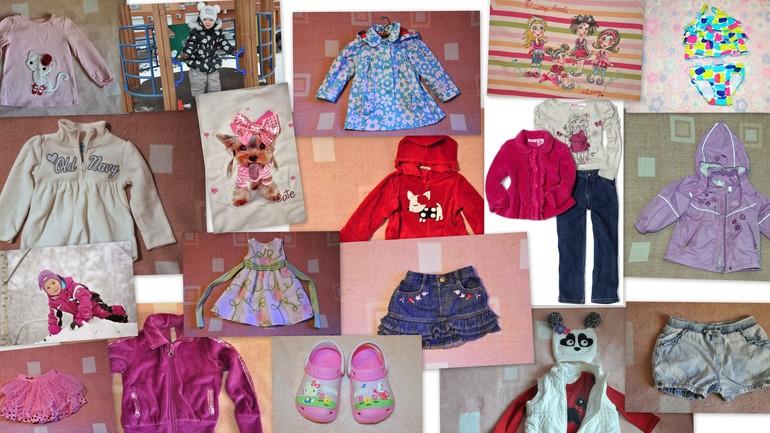 Коляска Инглезина трип, одежда и обувь для девочки 0-4 года