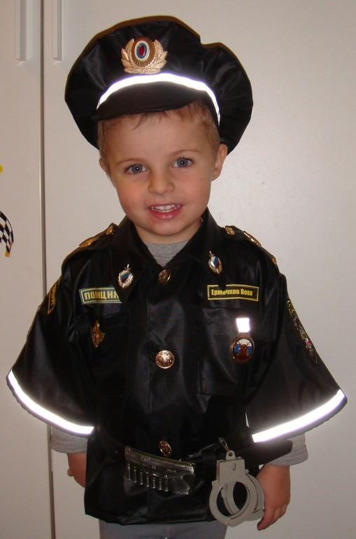 Как сшить костюм полицейского для мальчика своими руками 90
