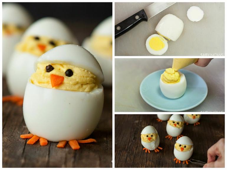 Как сделать украшение из яйца