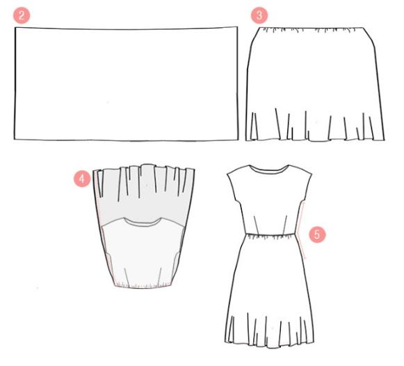 Как скроить юбку для беременных своими руками 69