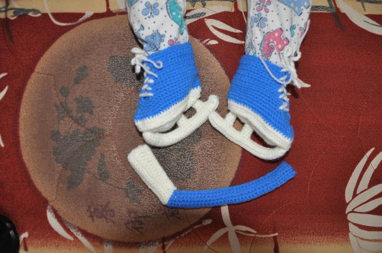 Коньки  для  будущего  хоккеиста!