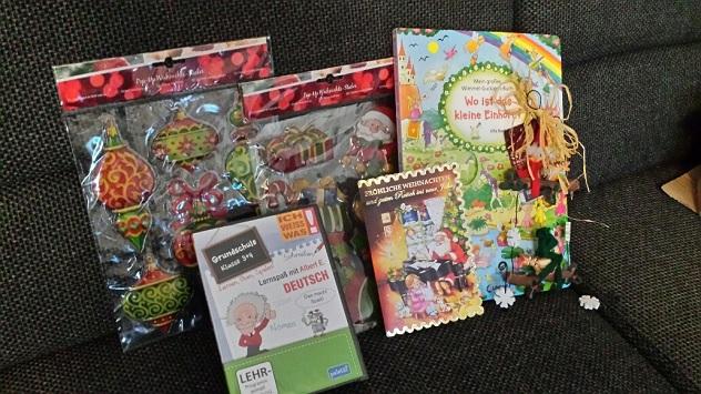 Подарки детям от организации 2