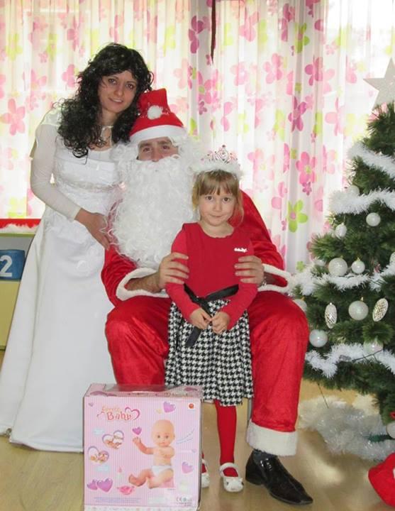 Приход дядо Коледа)