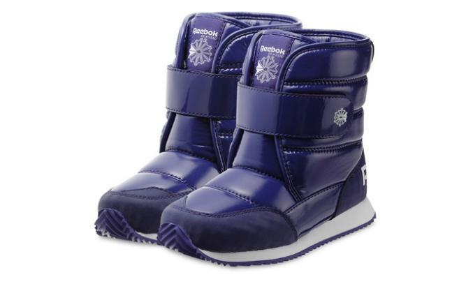 Детские зимние  ботинки reebok, кто-нибудь покупал?