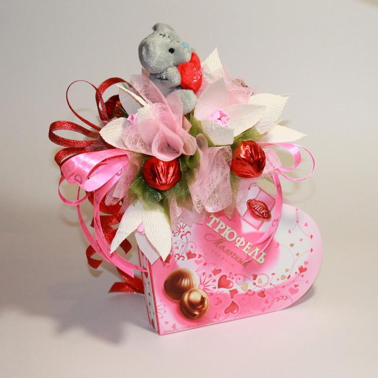 Букет из конфет это подарок 929