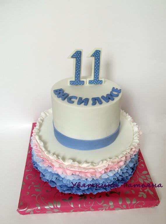 Торт для нашей старшей племянницы!
