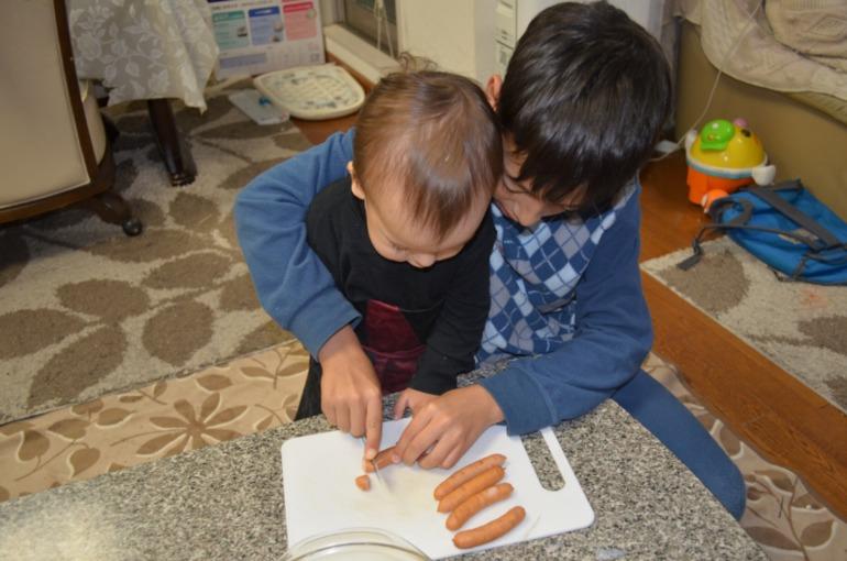 Готовим с детьми Макароны
