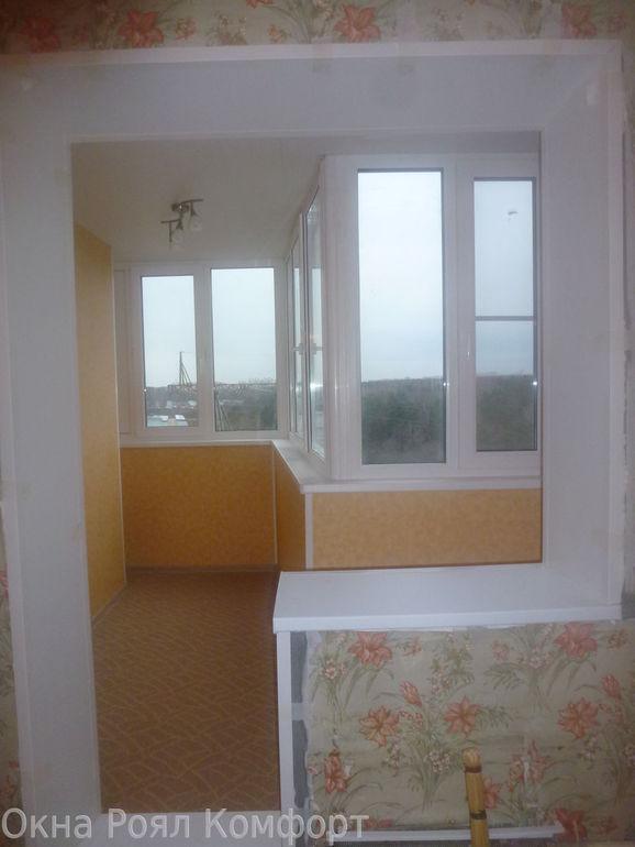 Типы балконов в панельных домах.