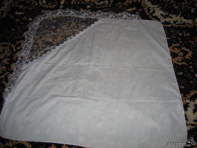 Как сшить пеленку уголок на выписку своими руками
