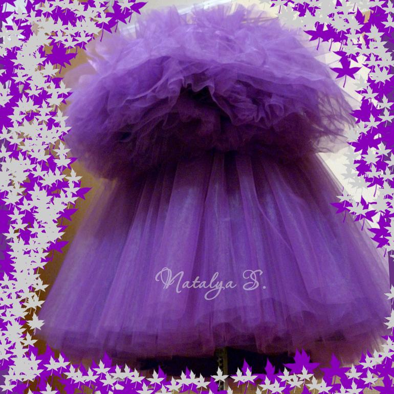 Платье облако своими руками для девочки 36