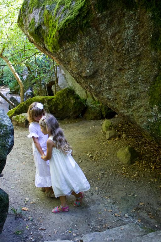 Нимфы в Алупкинском саду. Воронцовский парк