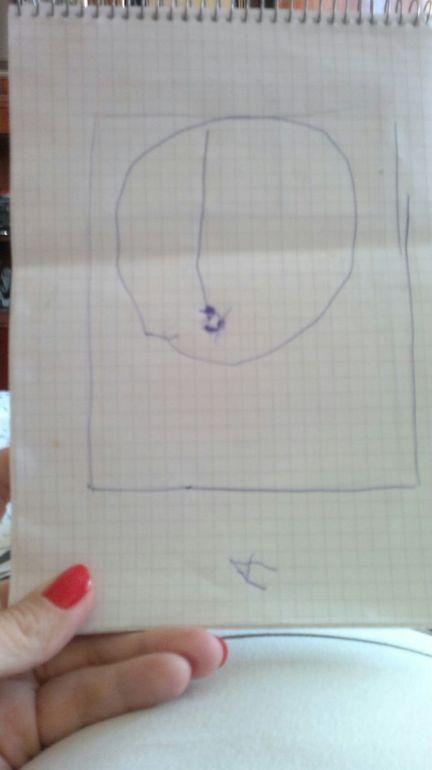 Айла нарисовала Оливию!