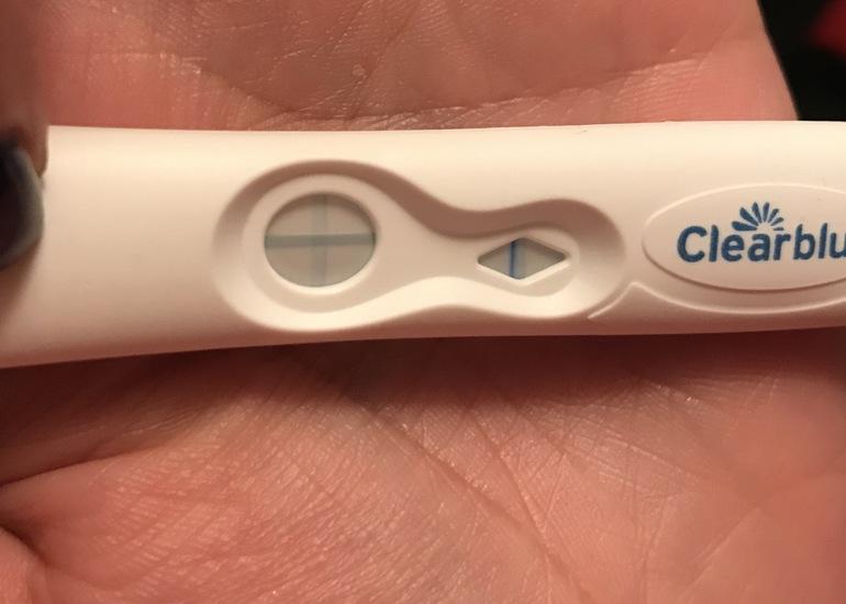 Клея блю тест на беременность инструкция