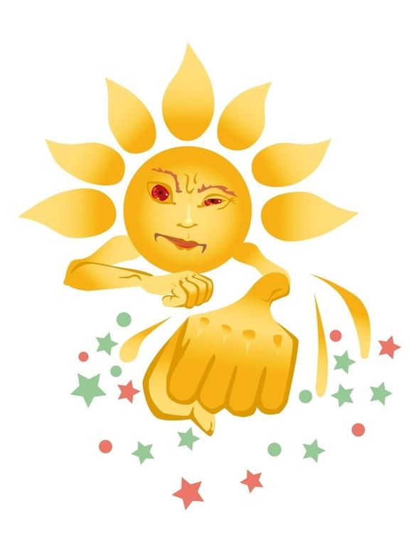 Удар Солнечный фото