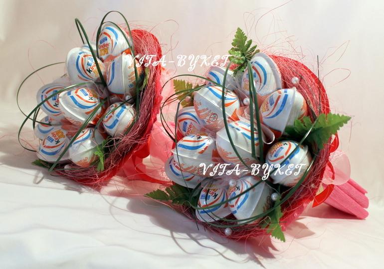 Букет из конфет своими руками киндер 37