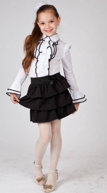 Купить Блузку Для Девочки В Первый Класс
