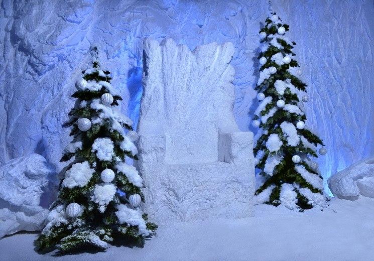 Декорации к снежной королеве своими руками