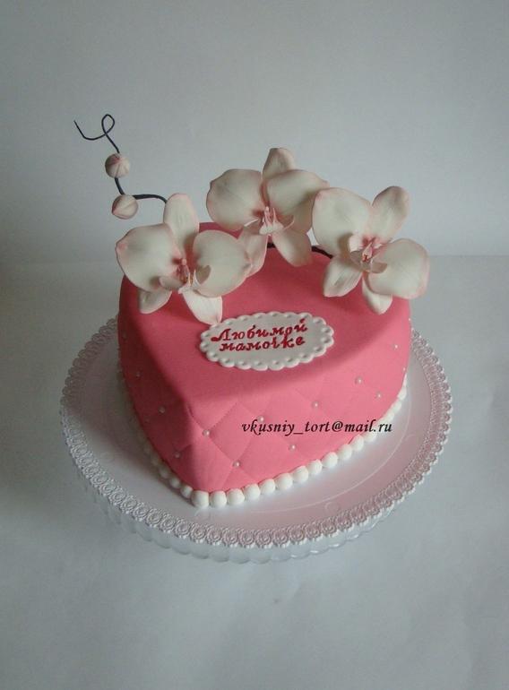 торт из мастики для мамы своими руками