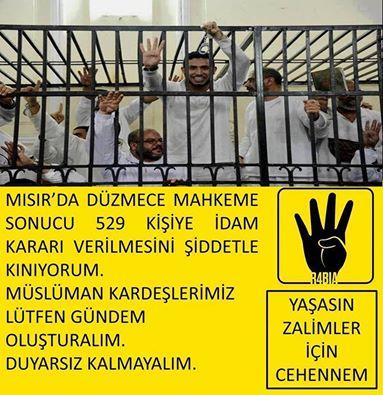 Приговор в Египте.Виселица для 529 мусульман?