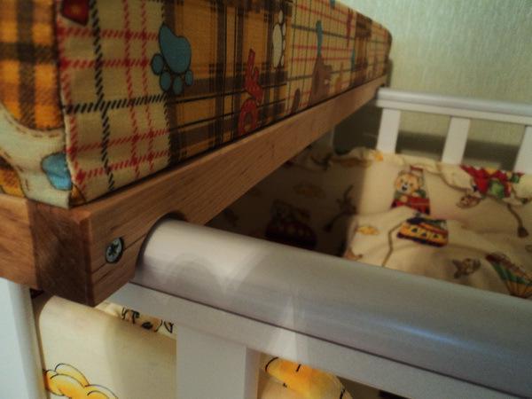 Пеленальная доска на кроватку своими руками мастер класс 10