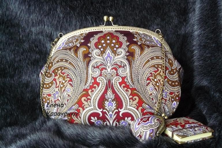 Как сшить сумку из павлопосадского платка своими руками