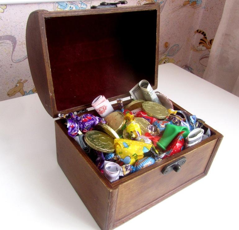 Сокровища пиратов подарки