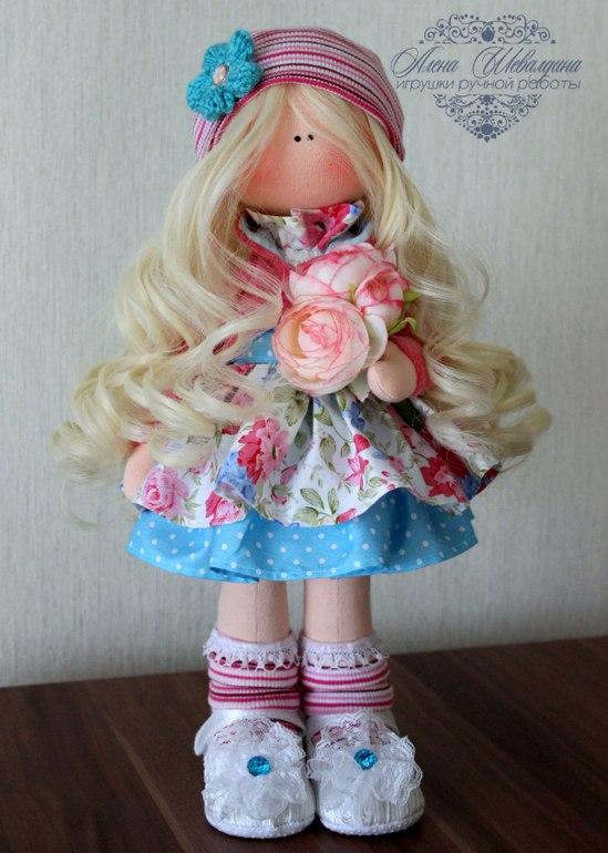 Волосы из тресс для куклы мастер класс