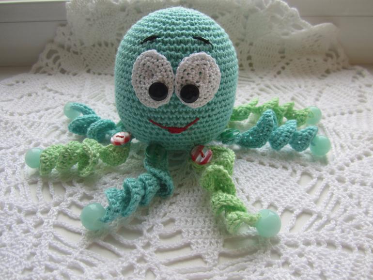 Вязание осьминога крючком схемы 52