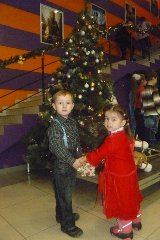 Первая елка)))