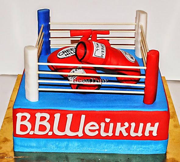 торт боксеру фото