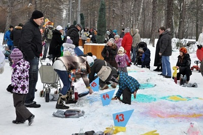 «Живопись на снегу» в Сокольниках