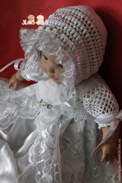 """Крестильный набор для девочки """"Шармель"""" уже в продаже"""