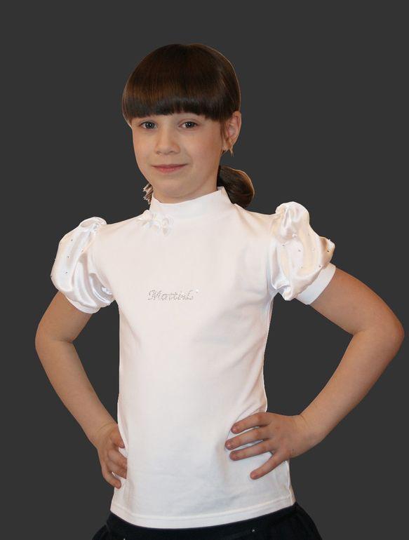 Детская Белая Блузка В Воронеже