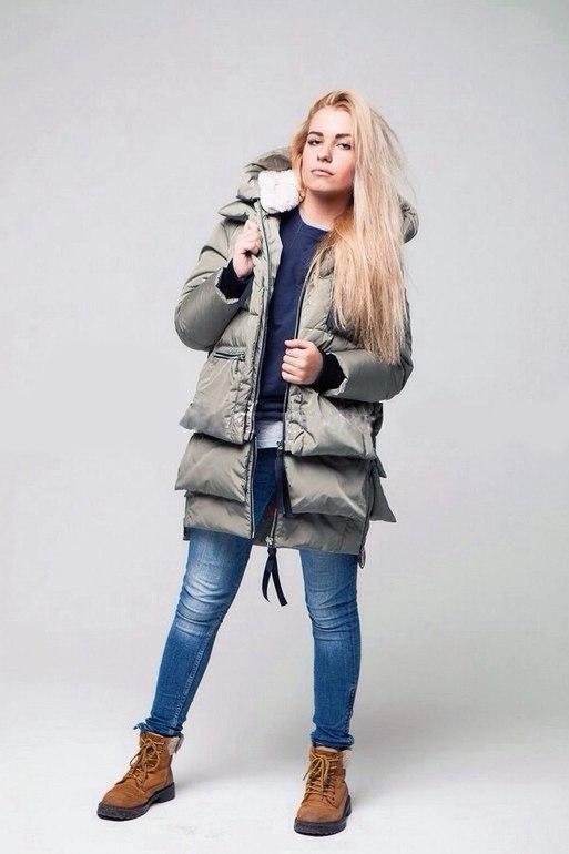Купить Куртку Парку Трансформер Женскую