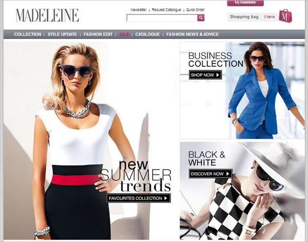 Madeleine  —  новое  лицо  на  британском  модном  подиуме
