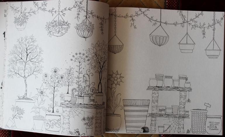 Раскраска волшебный сад - запись пользователя Mama-T (Mama ...