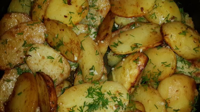 Рецепт вкусной картошки в духовке с пошагово