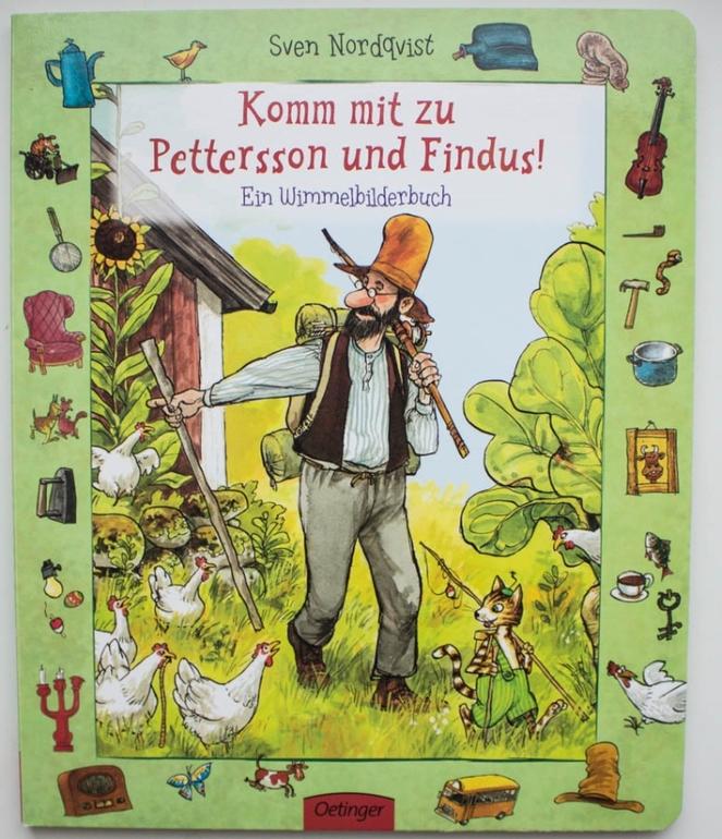 Виммельбух о Петсоне и Финдусе