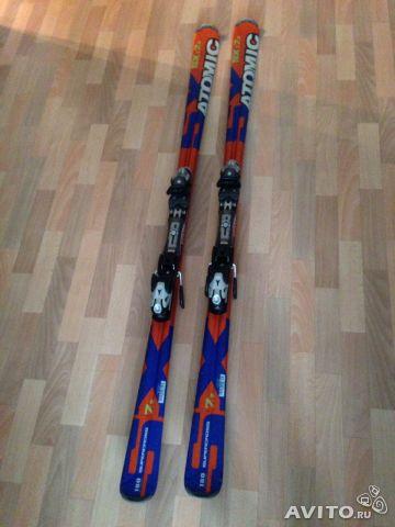 Продам горные лыжи Atomic 180 и ботинки Atomic