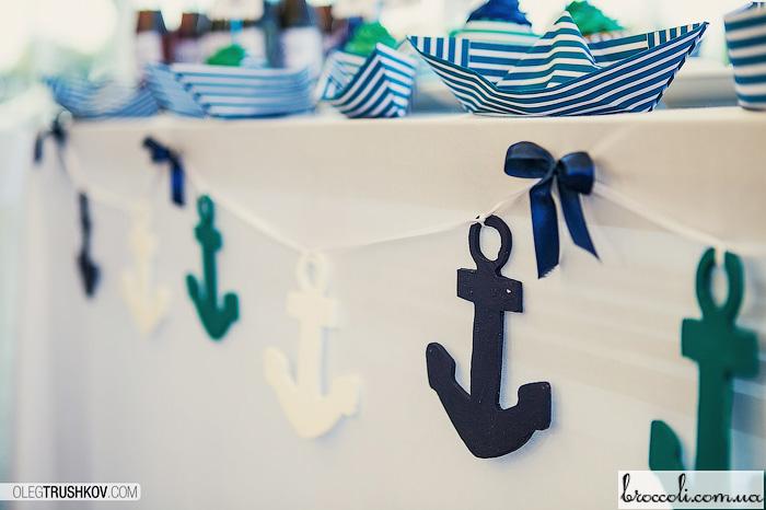 Атрибуты для морской вечеринки своими руками