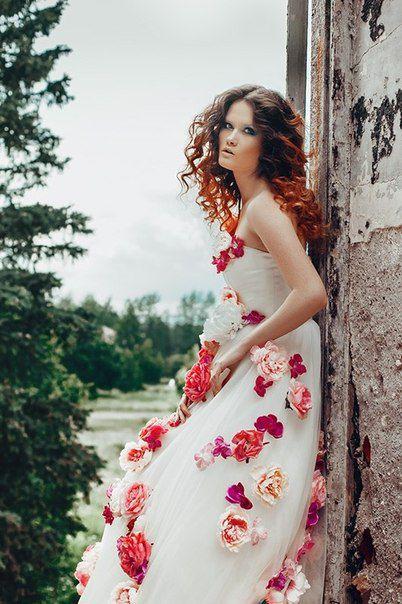 Платья с розами фотосессия