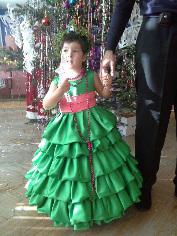 Платья елочки фото