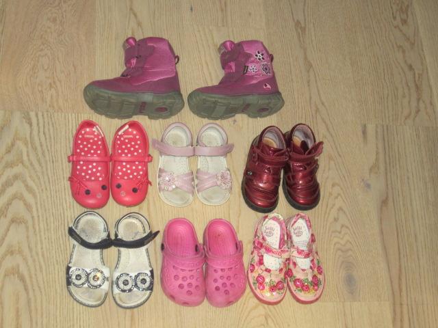 Обувь  для  девочки  бу  размеры  25-28