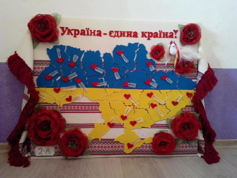 Поделка моя украина своими руками