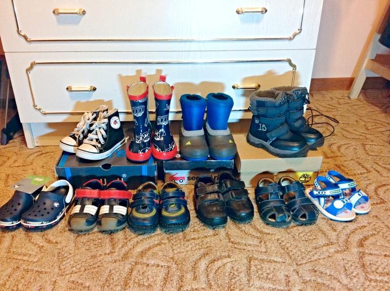 Обувь д/м 21-24 размеры. Crocs, Adidas, SeeKaiRun, Timberland, Next и др.